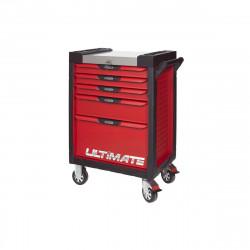 Servante KS TOOLS Ultimate - Rouge - 5 tiroirs - 809.0005
