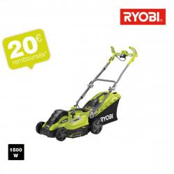 Tondeuse électrique RYOBI 1500 W coupe 36cm RLM15E36H