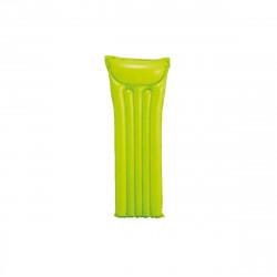 Matelas de plage gonflable vert - 183x69 cm