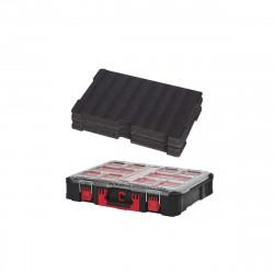 Pack MILWAUKEE PACKOUT Organiseur 10 casiers épais - Insert personnalisable