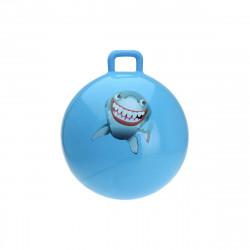 Ballon sauteur bleu - 55 cm de diamètre