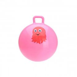 Ballon sauteur rose - 55 cm de diamètre