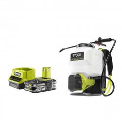 Pack RYOBI Pulvérisateur à dos 18V OnePlus RY18BPSA-0 - 1 Batterie 2.5Ah - 1 Chargeur rapide RC18120-125