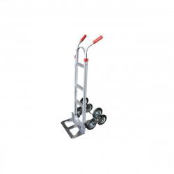 Diable en aluminium avec 3 roues 150 KG - 56,5x48,5x152,5 cm