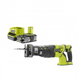 Pack RYOBI Scie sabre Brushless 18V OnePlus R18RS7-0 - 1 Batterie 2.5Ah - 1 Chargeur rapide RC18120-125