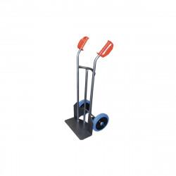 Diable en acier avec roues caoutchouc bleu 250 KG