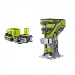 Pack RYOBI Affleureuse à bois 18V OnePlus R18TR-0 - 1 Batterie 2.5Ah - 1 Chargeur rapide RC18120-125