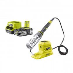 Pack RYOBI Fer à souder 18V R18SOI-0 - 1 Batterie 2.5Ah - 1 Chargeur rapide RC18120-125