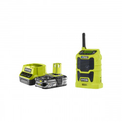 Pack RYOBI Radio bluetooth 18V OnePlus R18R-0 - 1 Batterie 2.5Ah - 1 Chargeur rapide RC18120-125