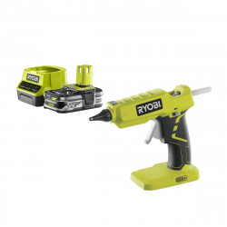 Pack RYOBI Pistolet à colle 18V OnePlus R18GLU-0 - 1 Batterie 2.5Ah - 1 Chargeur rapide RC18120-125