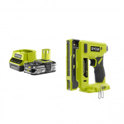Pack RYOBI Agrafeuse 18V R18ST50-0 - 1 Batterie 2.5Ah - 1 Chargeur rapide RC18120-125