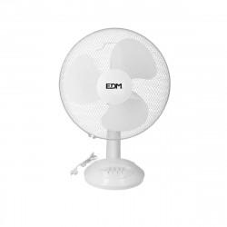 Ventilateur de table 45W - 40cm - Blanc 33964