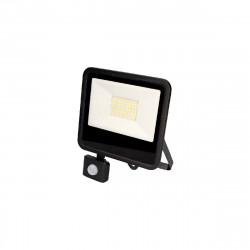 Projecteur Led EDM avec détecteur de mouvement - 50W 4000 Lumens - Noir