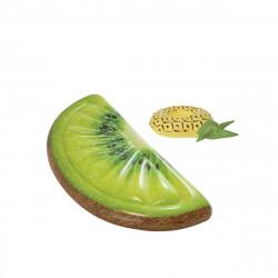 Pack Matelas de plage gonflable tranche de kiwi 178x85 cm - Pose-verre flottant modèle ananas