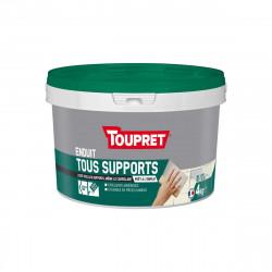 Enduit Multi-supports TOUPRET - 3 en 1 - 4Kg - BCUNIP04