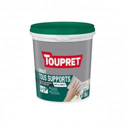 Enduit Multi-supports TOUPRET - 3 en 1 - 1,5Kg - BCUNIP1.5