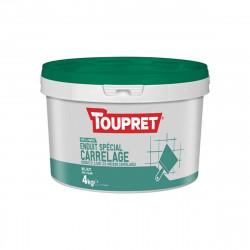 Enduit spécial carrelage TOUPRET - 4Kg - BCEUNIP04