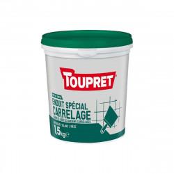 Enduit spécial carrelage TOUPRET - 1,5Kg - BCEUNIP1.5