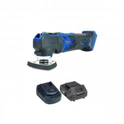 Pack SCHEPPACH Outil multifonctions sans fil 20V CMT200-20ProS - 1 Batterie 2.0Ah - 1 Chargeur rapide
