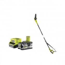 Pack RYOBI Elagueur à chaine sur perche 18V OnePlus OPP1820 - 1 batterie 5.0Ah - 1 chargeur rapide 2.0Ah RC18120-150