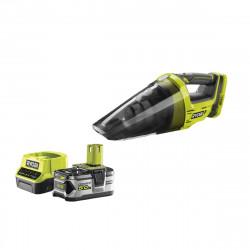 Pack aspirateur à main RYOBI 18V One Plus R18HV-0 - 1 batterie 5.0Ah - 1 chargeur rapide 2.0Ah RC18120-150