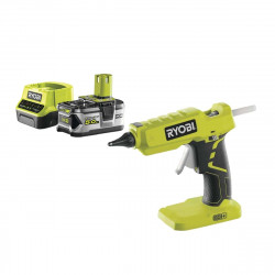 Pack RYOBI Pistolet à colle 18V OnePlus R18GLU-0 - 1 batterie 5.0Ah - 1 chargeur rapide 2.0Ah RC18120-150
