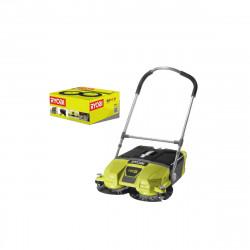 Pack RYOBI Balayeuse motorisée 18V OnePlus R18SW3-0G - Kit 2 brosses RYOBI pour balayeuse motorisée - RAKDSB02