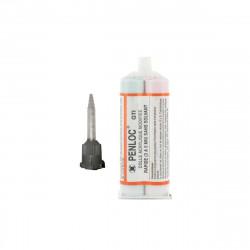 Pack Colle acrylique ELECO Penloc GTI 50ml - Buse mélangeuse pour colle bi composant GTI