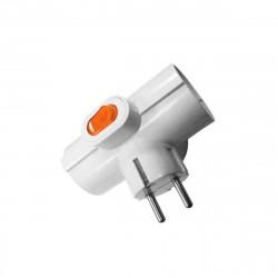 Triple prise avec interrupteur 16A R40067