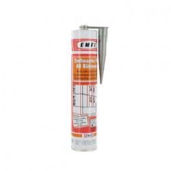 Mastic polyuréthane gris EMFI PU 40 bâtiment 300ml x 5