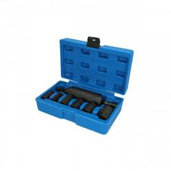 Kit d'outils à rouleter BRILLIANT TOOLS pour arbre d'entraînement - 7pcs - BT671050