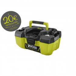 Aspirateur d'atelier RYOBI 18 V One Plus - sans batterie ni chargeur R18PV-0