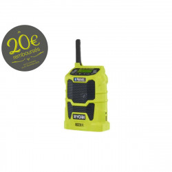 Radio bluetooth RYOBI AM/FM 18 V OnePlus - sans batterie ni chargeur R18R-0
