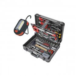Pack KS TOOLS Coffret d'outils Ultimate - 131 pcs - 922.0731 - Baladeuse à Led - 200 lumens - 150.4375