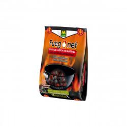 Sac de charbon instantané MASSO - pour barbecue - 1,5kg - 85866