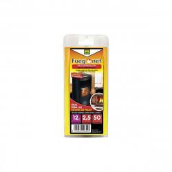 Pack réparation cheminée MASSO - cordon isolant 12mm - colle 50ml - 85879