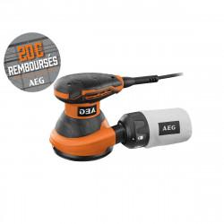 Ponceuse excentrique AEG 125mm 300 W EX 125 ED-SET