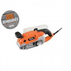 Ponceuse à bande électrique AEG 1010W 75mm HBS 1000 E
