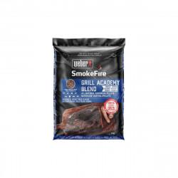 Granulés de bois WEBER - pour barbecues - mélange universel - 9kg