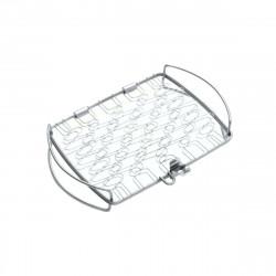 Panier WEBER - pour poisson - acier inoxydable - 5,59x20,57x27,94cm