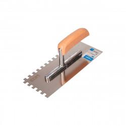 Truelle dentée EDM - Rectangulaire - manche en plastique - 340mm - 24150