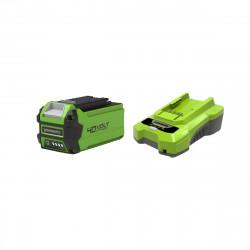 Pack GREENWORKS 40V - 1 batterie 2,0Ah Lithium-ion - 1 Chargeur