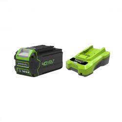 Pack GREENWORKS 40V - 1 batterie 4,0Ah Lithium-ion - 1 Chargeur