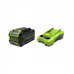 Pack GREENWORKS 40V - 1 batterie 6,0Ah Lithium-ion - 1 Chargeur