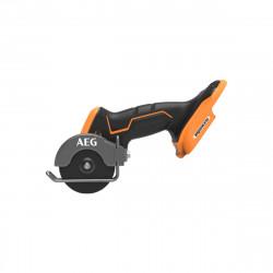 Mini scie multi matériaux AEG 18V - Brushless - Subcompact - Sans batterie ni chargeur - 6 disques - BMMS18SBL-0